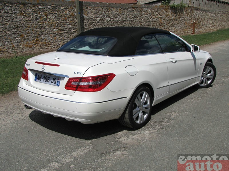Photo Mercedes E250 CDI Cabriolet modèle 2010