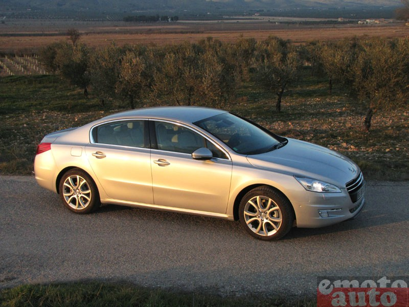Photo Peugeot 508 1.6 THP 156 modèle 2011