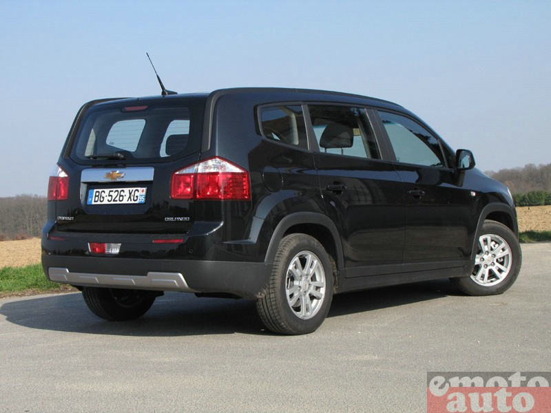 Photo Chevrolet Orlando 2.0 VCDi 130 modèle 2011