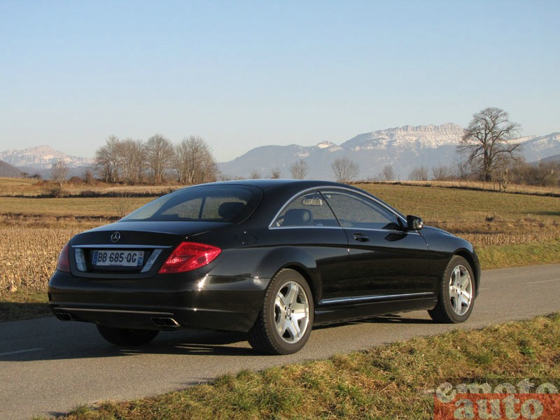 Photo Mercedes CL 600 modèle 2011