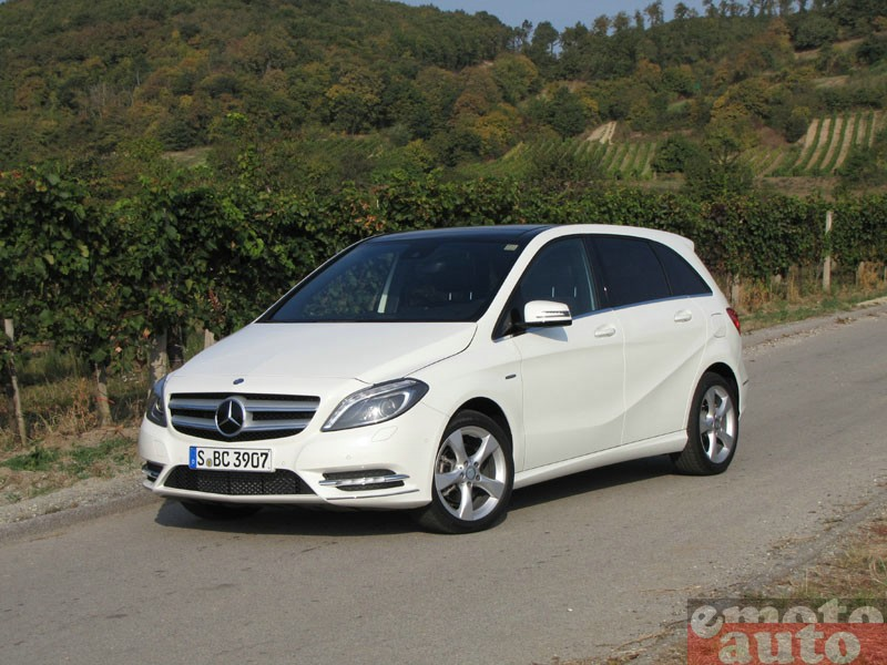 Photo Mercedes B200 modèle 2012