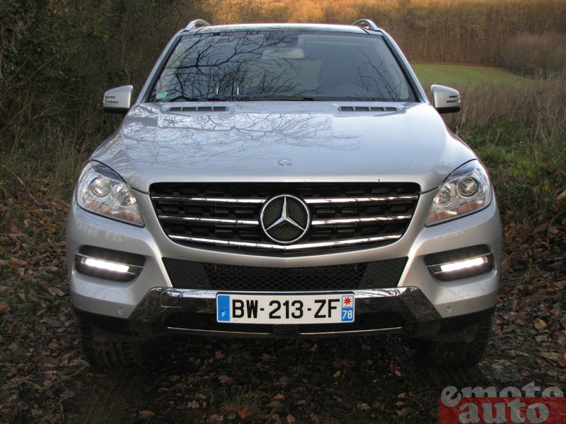 Photo Mercedes ML250 Bluetec modèle 2011