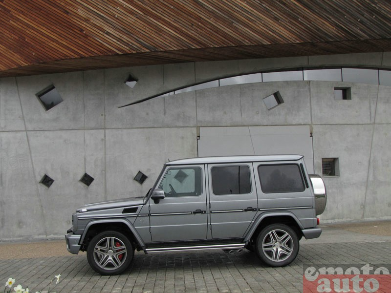 Photo Mercedes G63 AMG modèle 2012