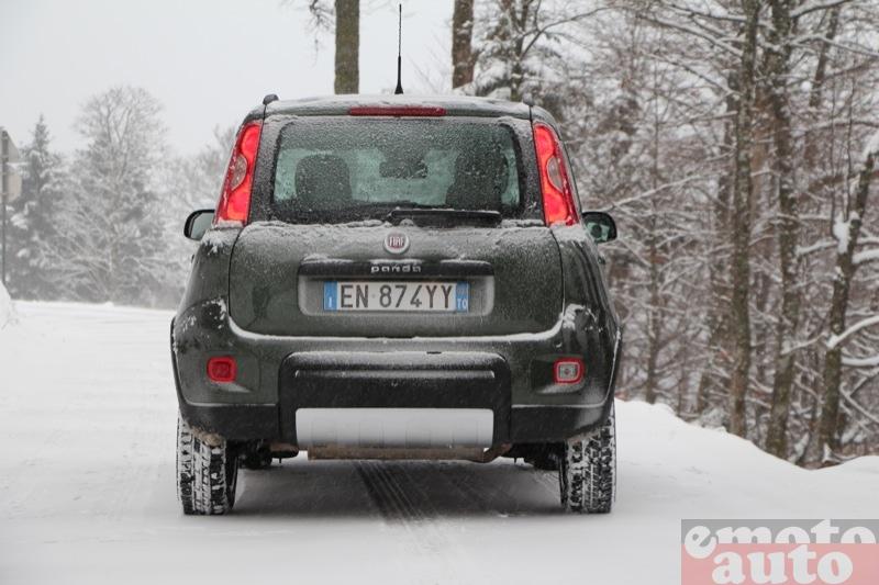 Photo Fiat Panda 4x4 1.3 Multijet 75 modèle 2013
