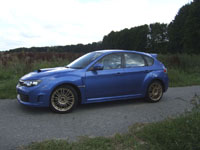 Photo 25 Essai Subaru Impreza WRX STI 2008