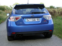 Photo 27 Essai Subaru Impreza WRX STI 2008