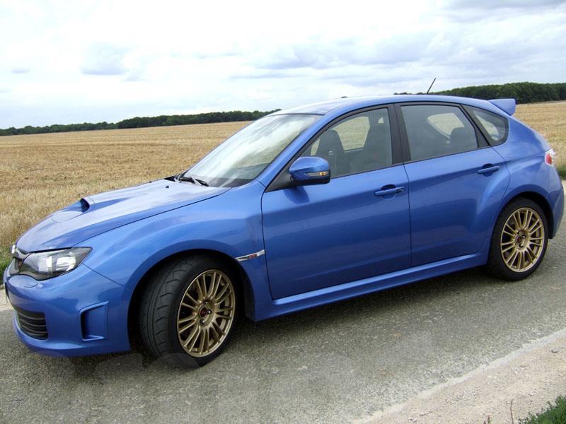 Essai Subaru Impreza WRX STI 2008 par Jean-Michel Lainé