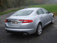 Photo 6 Essai Jaguar XF 2.7 D V6 Luxe Premium 2009