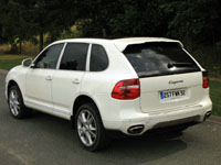 Photo 14 Essai Porsche Cayenne diesel 2009