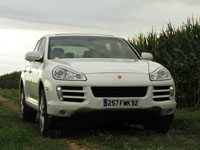 Photo 24 Essai Porsche Cayenne diesel 2009