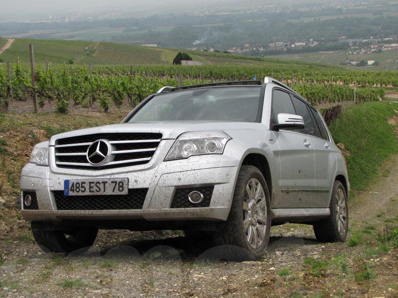 Essai Mercedes GLK 220 CDI 2009 par Jean-Michel Lainé