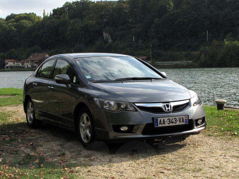 Essai Honda Civic Hybride 2009 par Jean-Michel Lainé