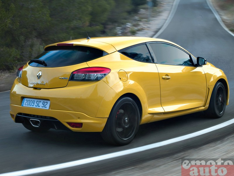 Photo Renault Megane RS modèle 2010