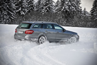 mercedes e350cdi break 4matic arriere