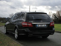 Photo 9 Essai Mercedes E350 CDI Break 2010