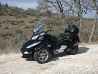 Photo 1 Essai Can-Am Spyder RT SM5 2010