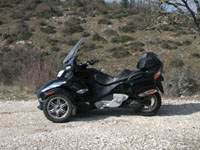 Photo 2 Essai Can-Am Spyder RT SM5 2010