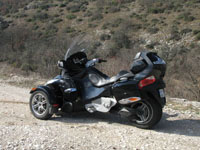Photo 3 Essai Can-Am Spyder RT SM5 2010