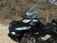 Photo 4 Essai Can-Am Spyder RT SM5 2010
