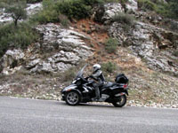 Photo 11 Essai Can-Am Spyder RT SM5 2010