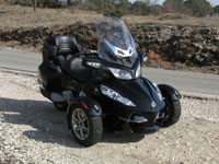 Photo 13 Essai Can-Am Spyder RT SM5 2010