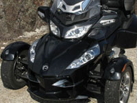 Photo 14 Essai Can-Am Spyder RT SM5 2010