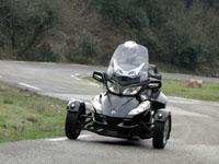 Photo 23 Essai Can-Am Spyder RT SM5 2010
