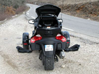 Photo 26 Essai Can-Am Spyder RT SM5 2010