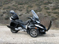 Photo 27 Essai Can-Am Spyder RT SM5 2010