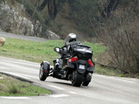 Photo 31 Essai Can-Am Spyder RT SM5 2010