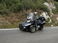 Photo 32 Essai Can-Am Spyder RT SM5 2010