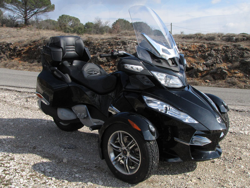 Essai Can-Am Spyder RT SM5 2010 par Jean-Michel Lainé