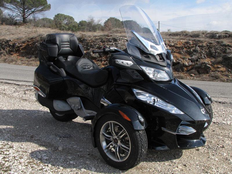 Essai Can-Am Spyder RT SM5 modèle 2010 par Jean-Michel Lainé