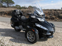fond d'écran Essai Can-Am Spyder RT SM5 2010