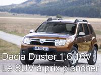 Essai Dacia Duster 1.6 16V 4x2 2010 par Jean-Michel Lainé