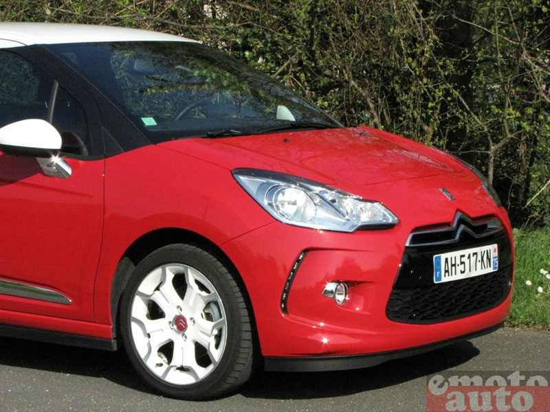 Photo Citroën DS3 1.6 THP 150 modèle 2010