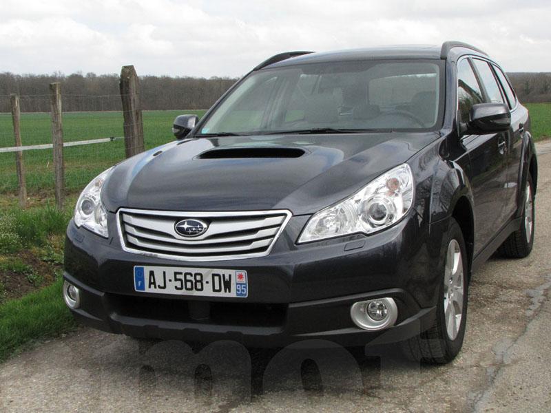 Essai Subaru Outback 2.0D 2010 par Jean-Michel Lainé