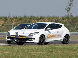contisportcontact 5p megane rs pilotes