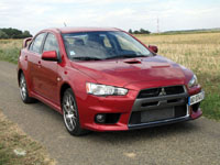 Photo 1 Essai Mitsubishi Lancer Evolution 2008