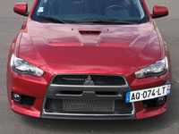 Photo 2 Essai Mitsubishi Lancer Evolution 2008