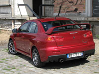 Photo 4 Essai Mitsubishi Lancer Evolution 2008