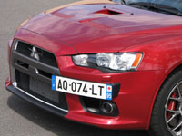 Photo 10 Essai Mitsubishi Lancer Evolution 2008