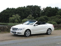Photo 2 Essai Mercedes E250 CDI Cabriolet 2010