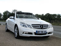 Photo 10 Essai Mercedes E250 CDI Cabriolet 2010