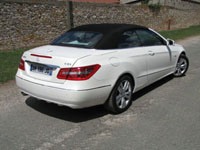 Photo 25 Essai Mercedes E250 CDI Cabriolet 2010