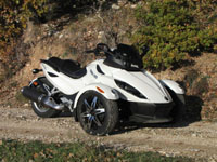 Photo 2 Essai Can-Am Spyder RSS SM5 modèle 2010