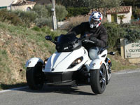 Photo 26 Essai Can-Am Spyder RSS SM5 modèle 2010