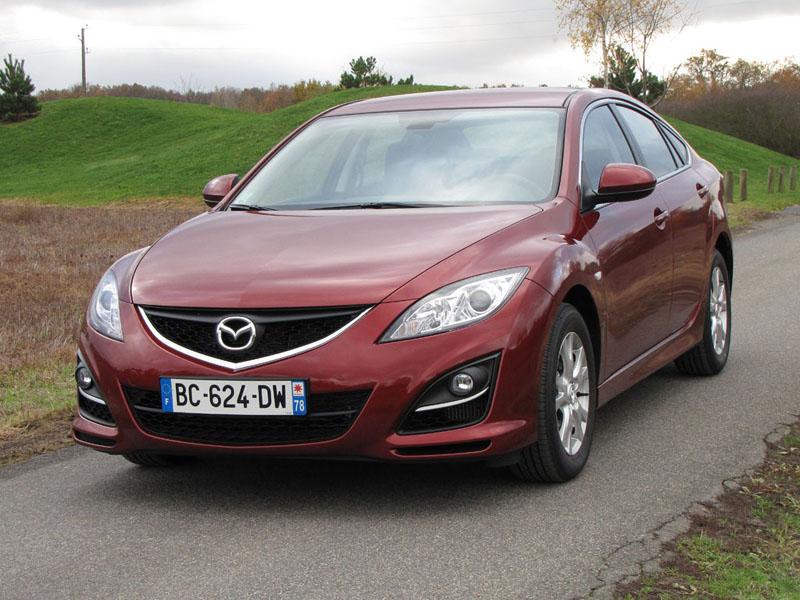 Essai Mazda Mazda6 2.2 MZR-CD 129 2010 par Jean-Michel Lainé