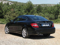 Photo 6 Essai Mercedes C250 CDI Coupé 2011