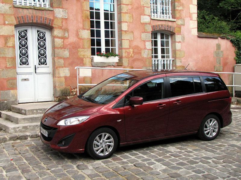 Essai Mazda Mazda5 1.6 MZ-CD 115 2011 par Jean-Michel Lainé